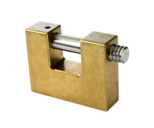 Solid-Brass-Staple-Padlock