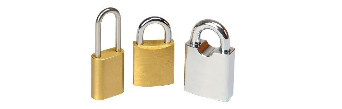 Stainless steel padlock