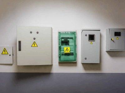 Electronic smart power box lock
