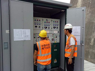 Check working of the power box