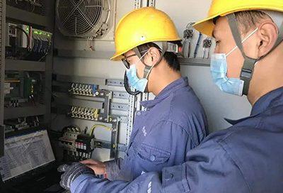 Power transmission system maintenance