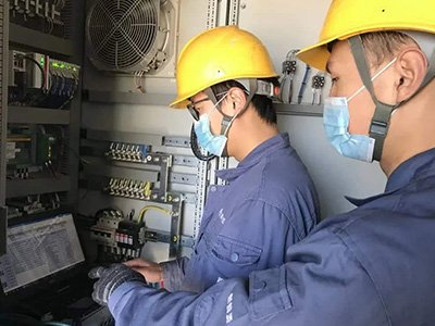 Power transmission system maintenance