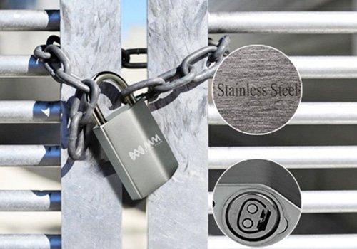 Smart electronic padlock