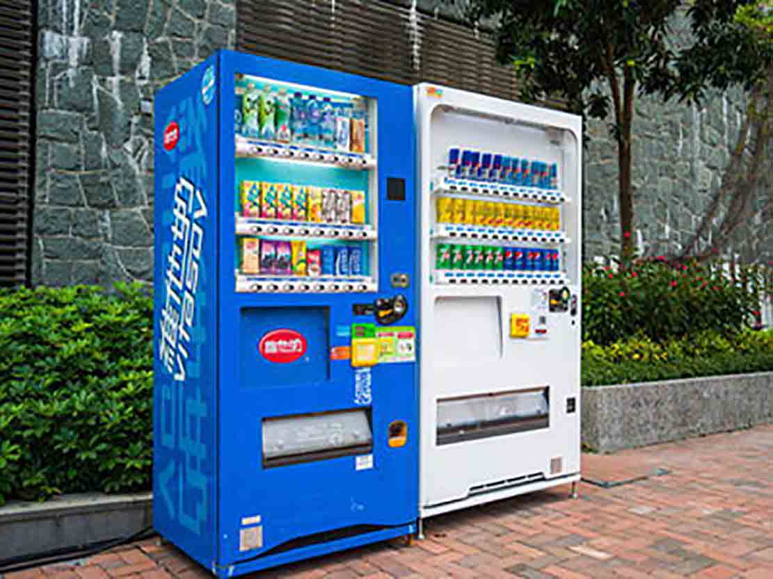 Unmanned vending machine