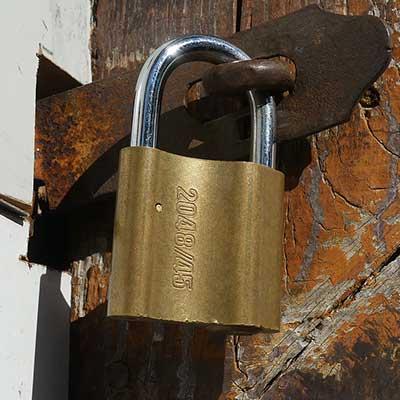 Mechanical-padlock