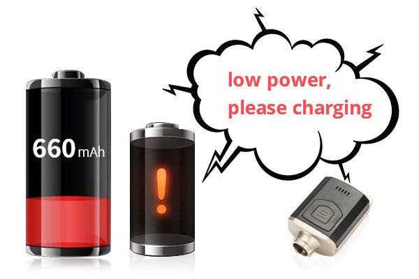 low power alarm
