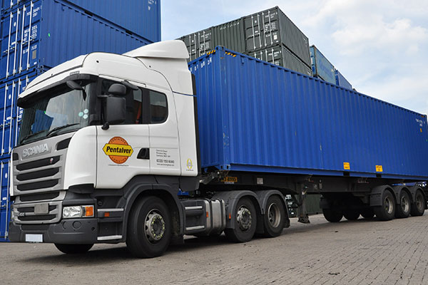 Container-Transportation
